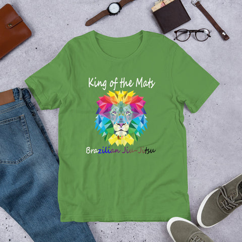 Image of Unisex BJJ T-Shirt - King of the mats