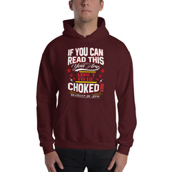 Hooded BJJ Sweatshirt - Chokes Lovers