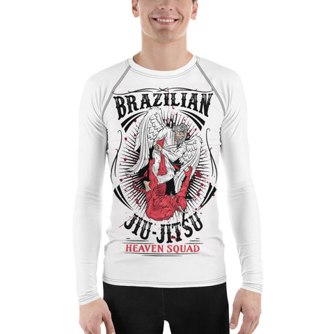 Angel Warrior BJJ Rash Guard