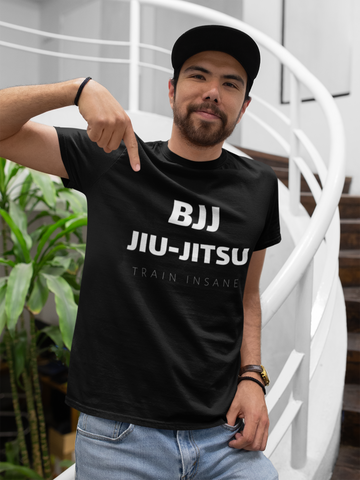 BJJ T-Shirt - Train Hard