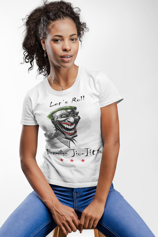 Let's Roll Funny Face - BJJ T-Shirt