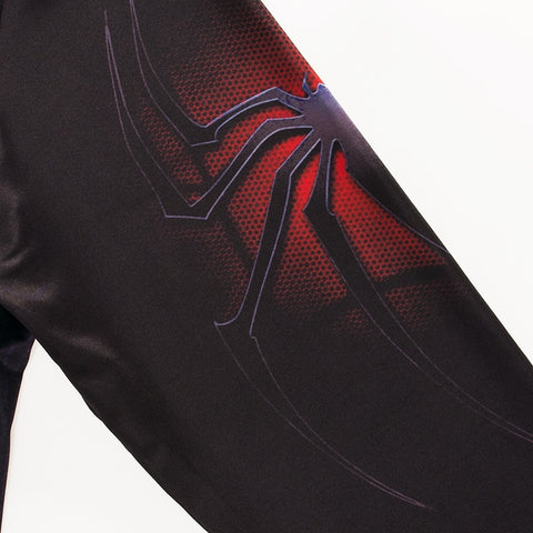 Black Spider Rash Guard