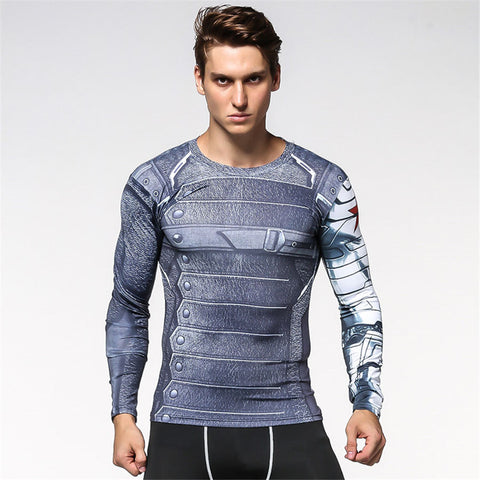 Image of Winter Soldier BJJ Rash Guard