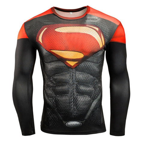 Image of Long Sleeve BJJ Spiderman Rash Guard