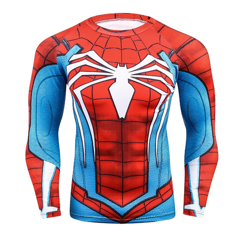 Image of Spider BJJ Rash Guard