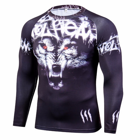 Image of Wolf BJJ Rash Guard