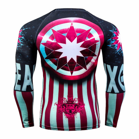 Star BJJ Rash Guard