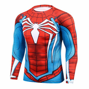 Spider BJJ Rash Guard