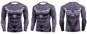 Venom Spider BJJ Rash Guard