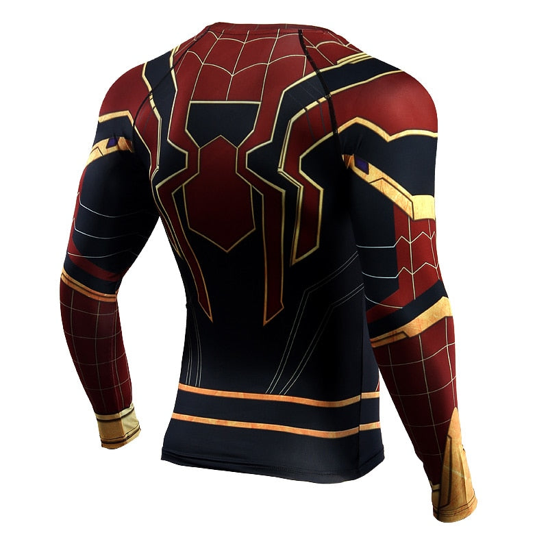 Iron Spiderman BJJ Rash Guard