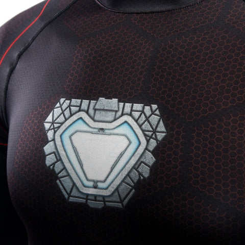 Ironman Repulsor BJJ Rash Guard
