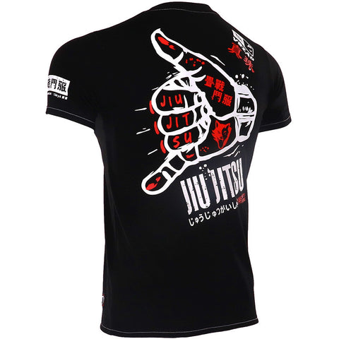 Jiu Jitsu Short Sleeve Rash Guard - BJJ Player