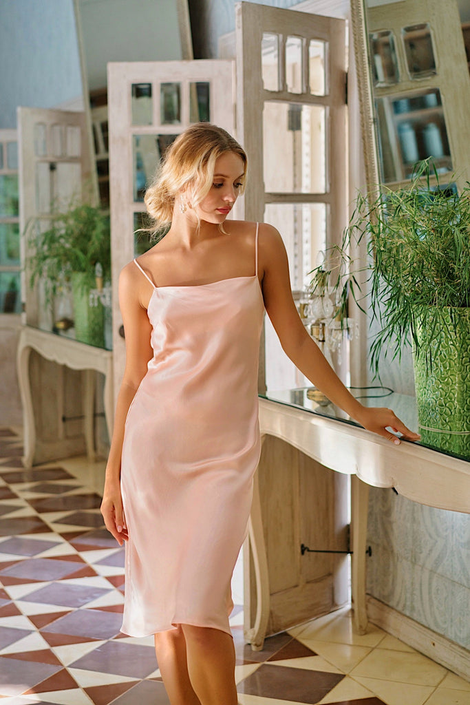 Flaunt Slip Dress - Dusty Blush (New Edition)