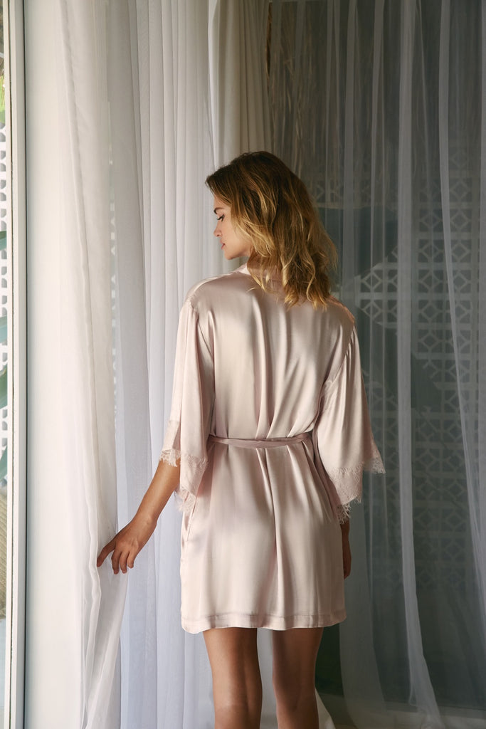 The Everyday Robe - Light Blush - Wustler