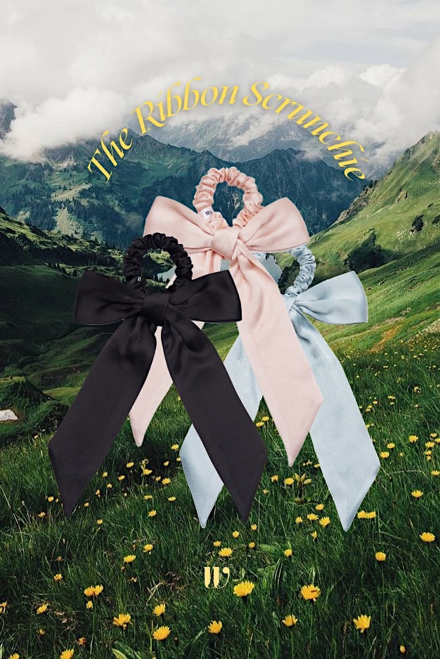 The Ribbon Scrunchie