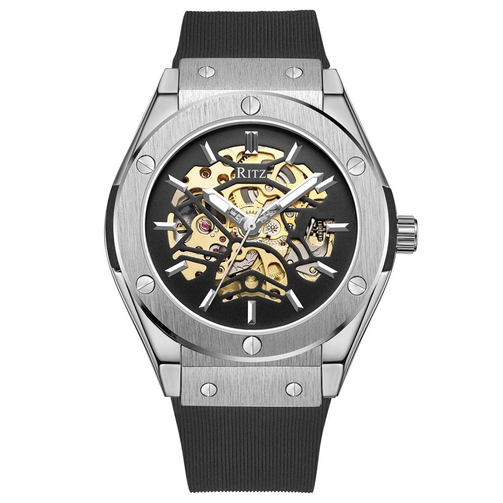ATLAS AUTOMATIC SKELETON / SILVER BLACK