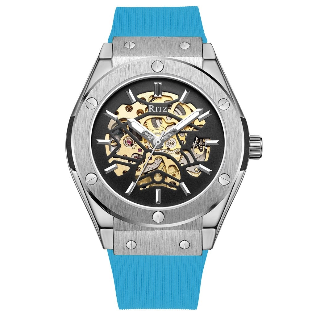 ATLAS AUTOMATIC SKELETON / SILVER BLUE