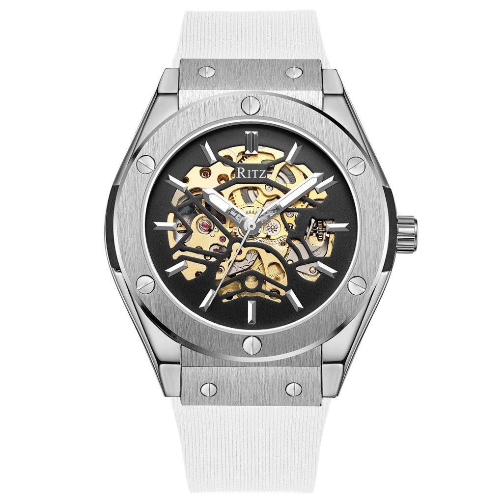 ATLAS AUTOMATIC SKELETON / SILVER WHITE
