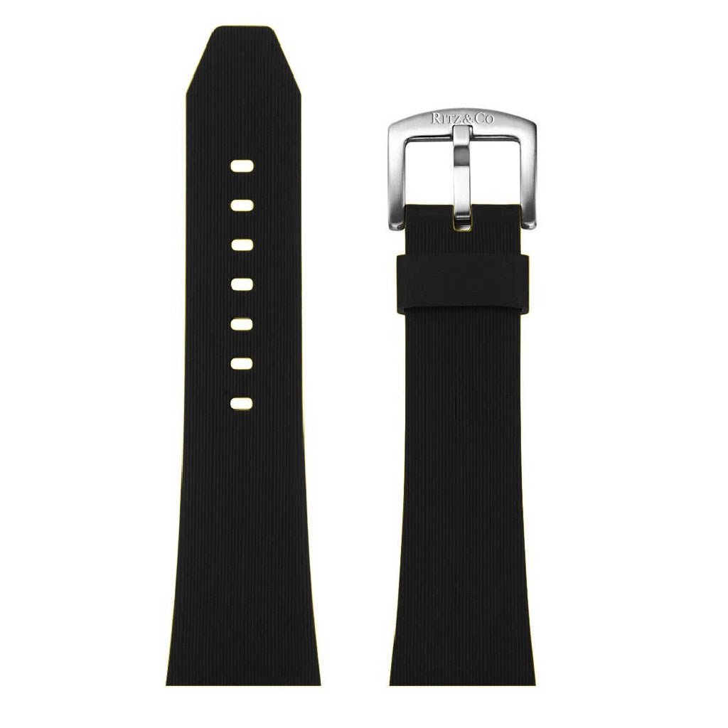 ATLAS STRAP BLACK / SILVER