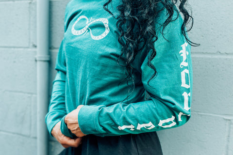 Whatever Forever Long Sleeve (Teal)