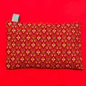Lavender Filled Sleep Pillow - Deep Red