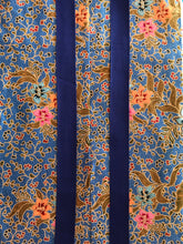 Yoga Mat Bag - mid blue batik
