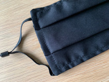 Face Mask Plain Black