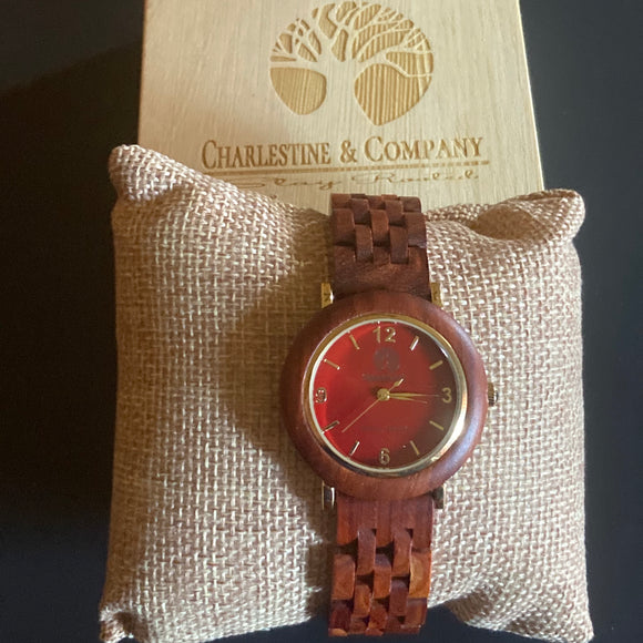 Timber Oak Wooden Watch