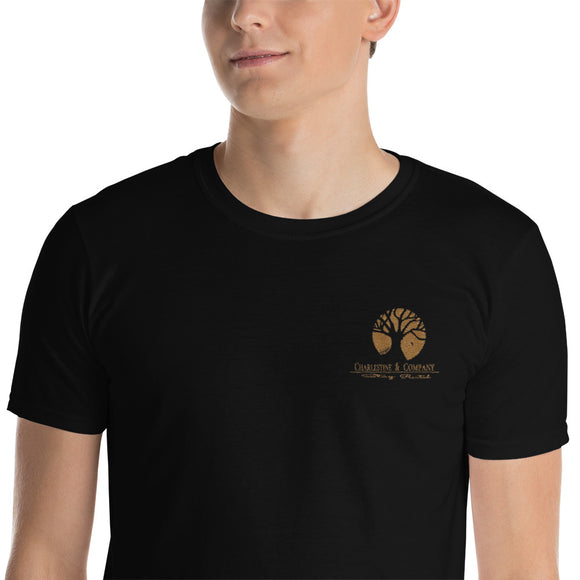 Charlestine & Company Embroidered Short-Sleeve Unisex T-Shirt