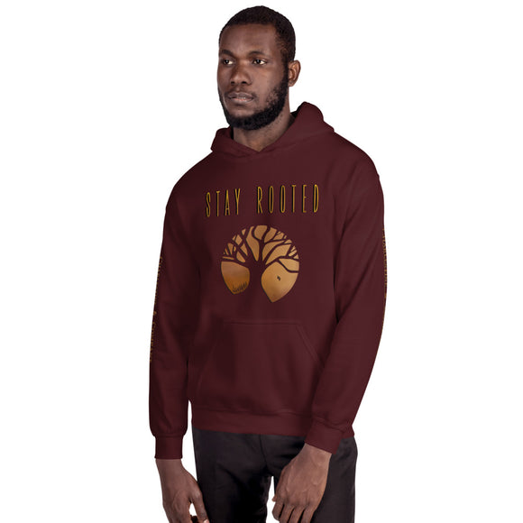 "Charlestine & Company ""Stay Rooted"" Men's Hooded Sweatshirt"