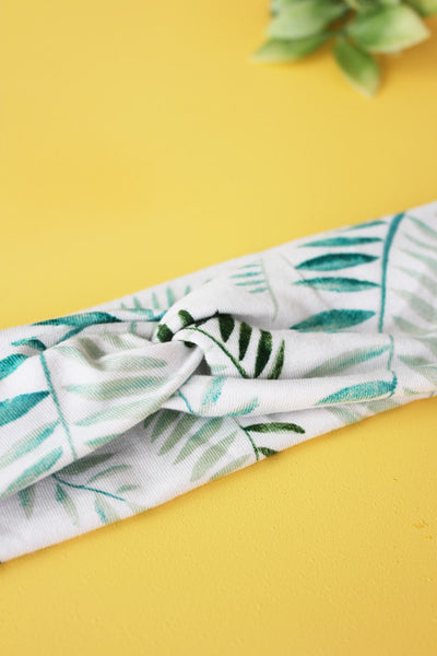 Palm Leaf Brainy Melon® Headband
