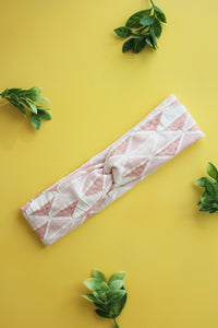 Pink Triangles Lux Brainy Melon® Headband