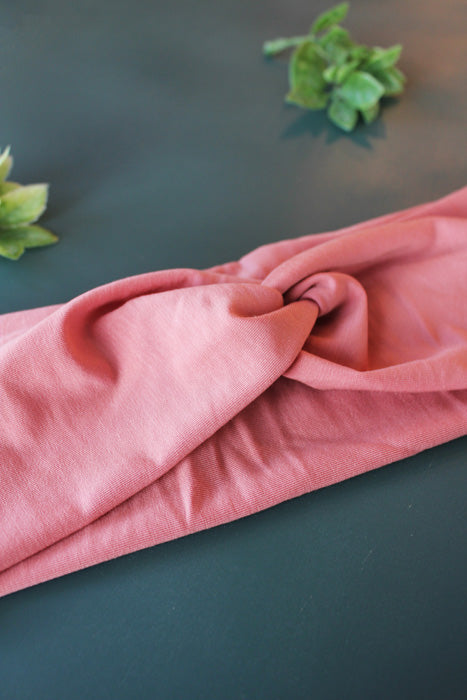 Mauve Pink Brainy Melon® Head Wrap