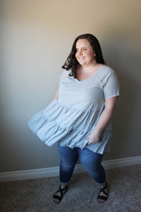 Truro Grey Blouse
