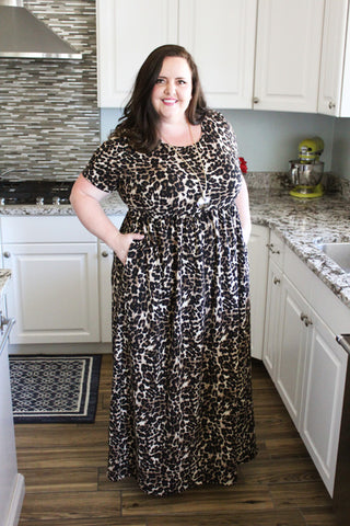 In The Wild Leopard Maxi (1X-4X)