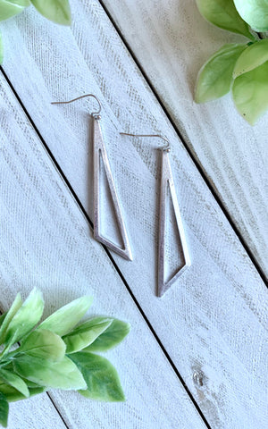 Madison Triangle Earrings