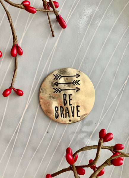 Be Brave- Phone Grip Cover