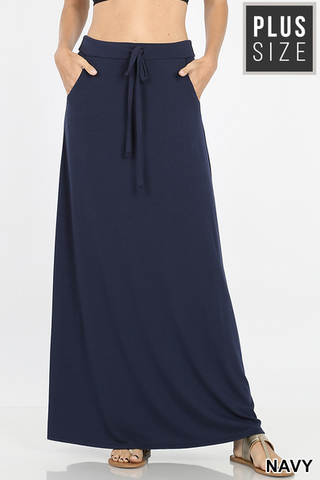 Relaxed Maxi Skirt