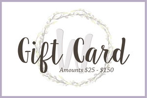 The Wandering Willow Gift Card