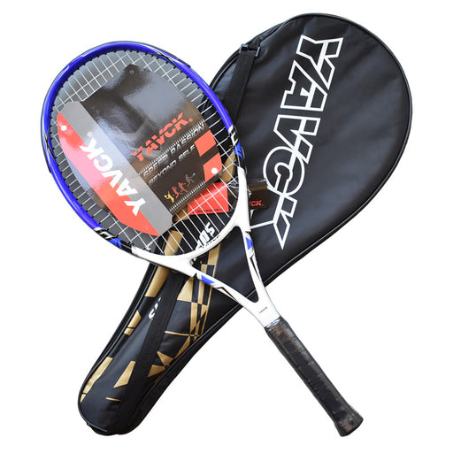Tennis Racket with Overgrip