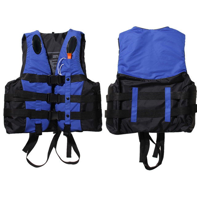 Polyester Adult Life Vest With Whistle