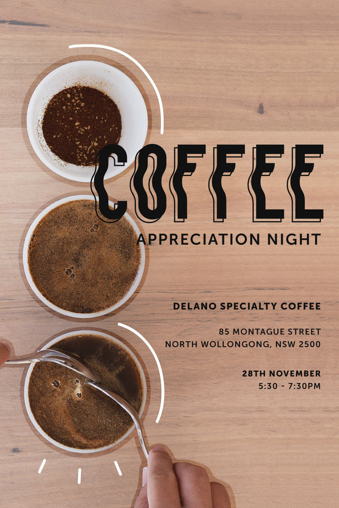 Coffee Appreciation Night