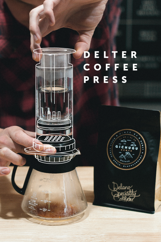 Delter Coffee Press Review