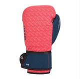 CENTURY BRAVE LADIES BOXING GLOVES CORAL/NAVY BACK