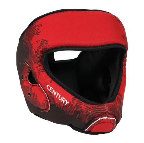 CENTURY C-GEAR WASHABLE SPARRING HEAD GUARD RED/BLACK