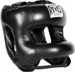 CLETO REYES HEADGEAR WITH NYLON ROUNDED BAR BLACK
