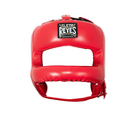 CLETO REYES HEADGEAR WITH NYLON ROUNDED BAR RED