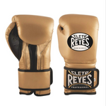 CLETO REYES VELCRO BOXING GLOVES GOLD
