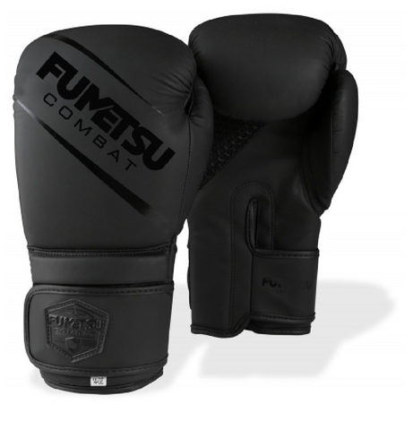 Fumetsu Shield Boxing Gloves Black/Black