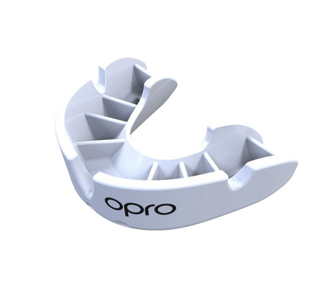 OPRO BRONZE GEN 4 MOUTH GUARD WHITE